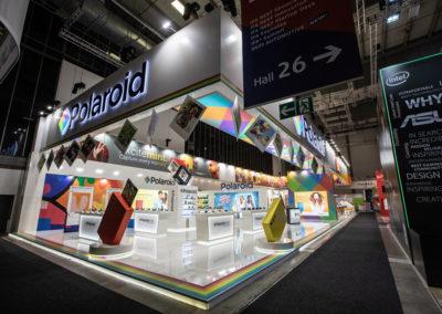 Polaroid exhibiting abroad